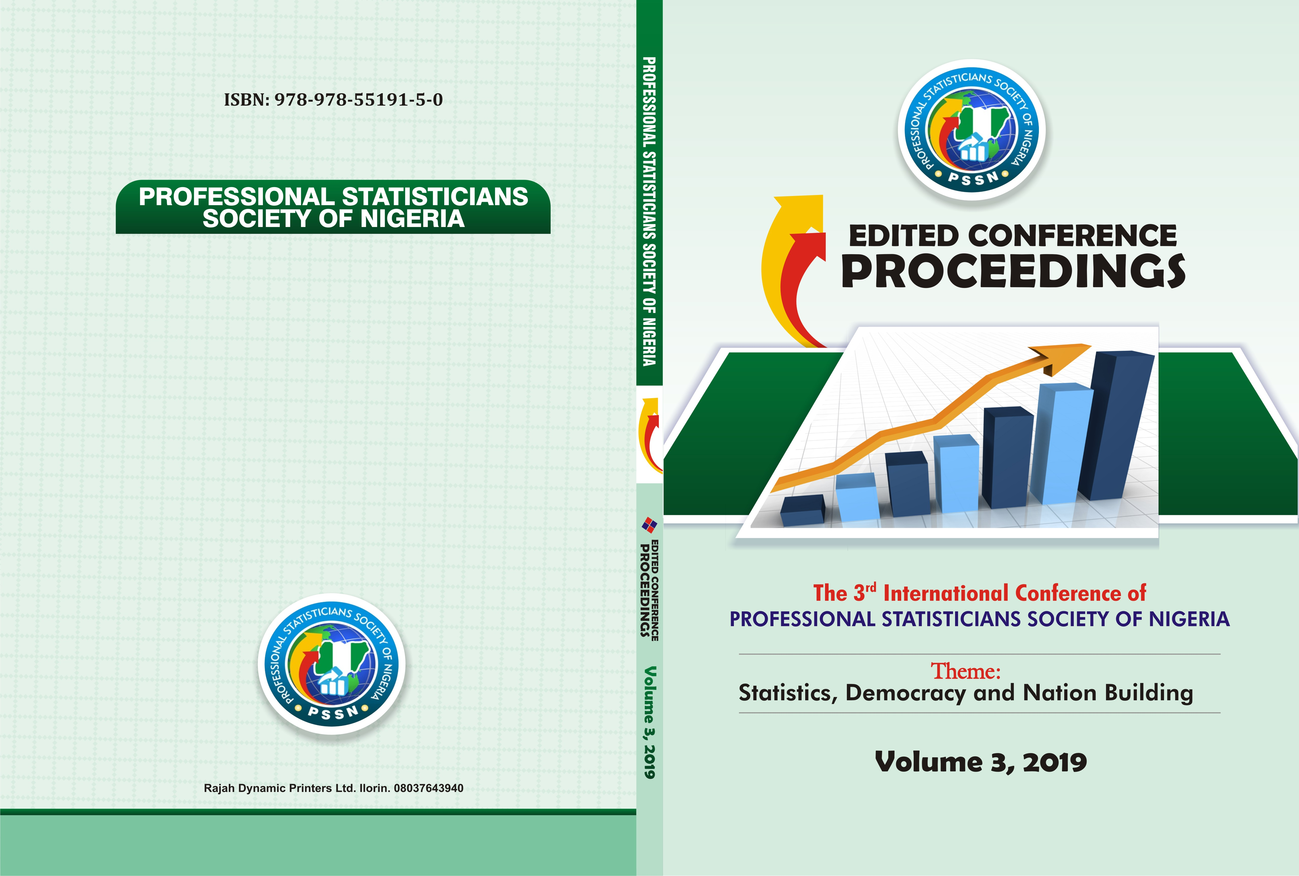 Proceedings cover Page